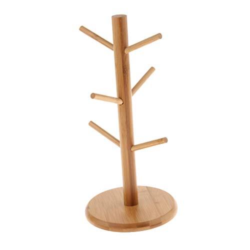 Sharplace Bambou En Bois Support De Tasse Rack Égouttoir De Séchage Drainer Titulaire