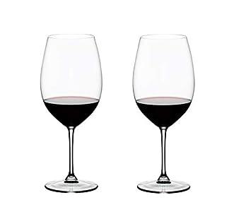 RIEDEL Vinum Bordeaux Grand Cru Copa de Vino, Cristal, Multicolor, 26.3 X 13.5 X 29.9 cm, 2 Unidades
