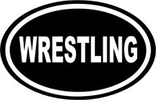 ملصق من الفينيل مطبوع عليه Chase Grace Studio Wrestling Wrestlers |أبيض|شاحنات Vans SUV أجهزة الكمبيوتر المحمولة صندوق أدو...