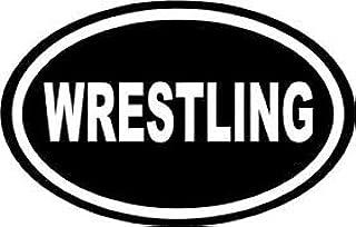 Chase Grace Studio Wrestling Wrestlers Vinyl Decal Sticker|White|Cars Trucks Vans SUV Laptops Tool Box Wall Art|5.5