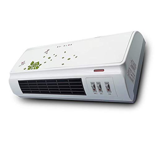 GWFVA Condizionatore d'Aria Portatile per Montaggio a Parete Piccolo condizionatore d'Aria Caldo e Freddo a Doppio Uso Elettrico Impermeabile a Risparmio energetico