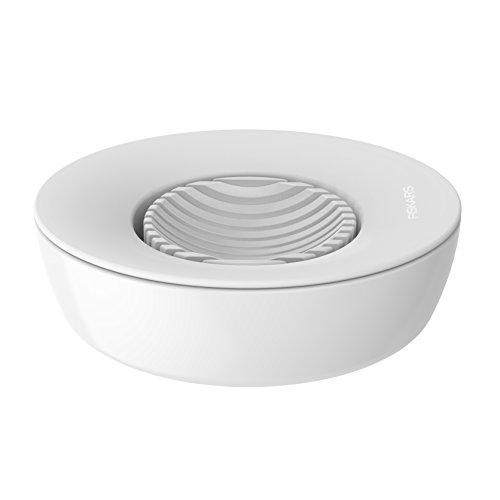 Fiskars Eierschneider, Kunststoff/Edelstahl, 13,3 x 12 x 4,2 cm, Functional Form, Weiß, 1016126