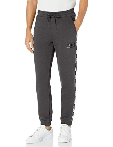 PUMA Men's Holiday Pack Sweat Pants, Dark Gray Heather Fleece, S