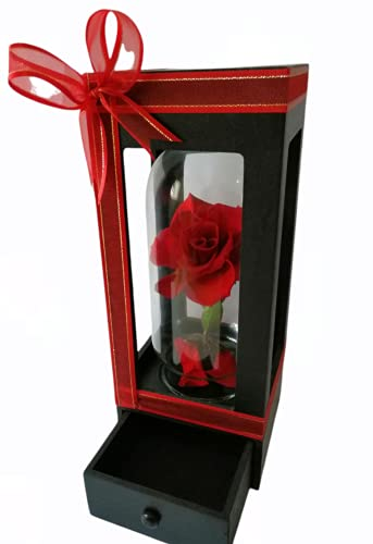 Generico Rosa Eternizada Premium Roja