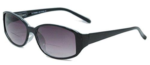 The Key West Stylish BIFOCAL Reading Sunglasses, Unisex Sun Readers for Men and Women + 3.00 Black