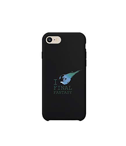 GlamourLab I Love Final Fantasy Star Quote_R2790 Protective Phone Case Cover Handyhulle Handyhülle Schutz Hülle Kompatibel mit iPhone 7 Plus Lustig Gift Christmas Birthday Novelty