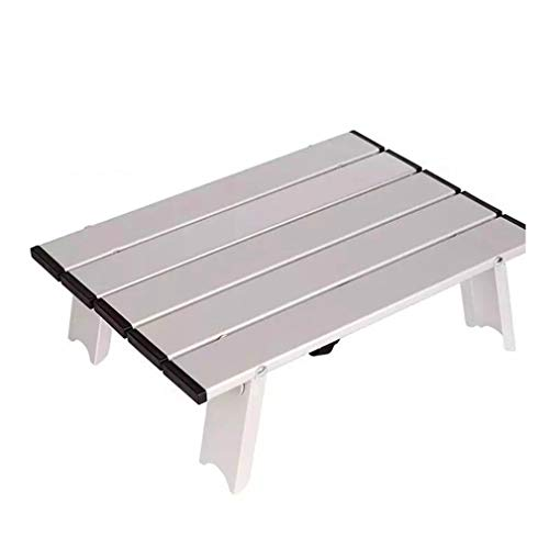 Japan Hot Camping Ultra Light Aluminium klaptafel Mini computertafel zilver
