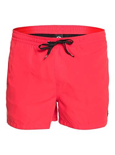 "Quiksilver™ Everyday 15"" Swim Shorts Schwimmshorts Männer L Rot"