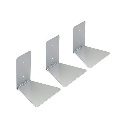 Umbra 330639-560, Estante invisible de metal, plateado, 12,7 x 12,7 x 14 cm, pack de 3 unidades