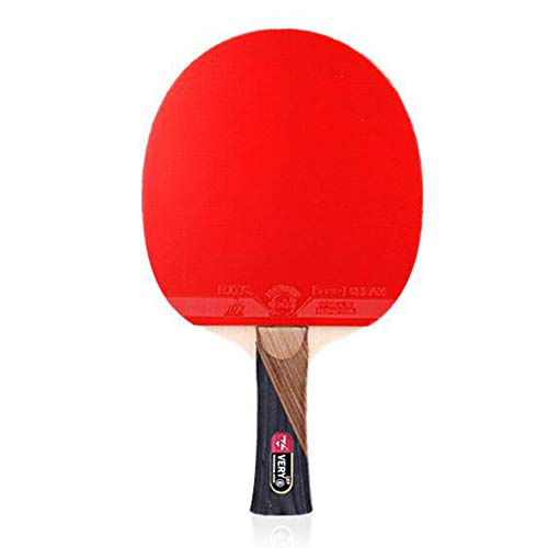 Check Out This Intermediate Offensive Ping Pong Racket,Non-Slip Case Ping Pong Paddle with Family Sc...