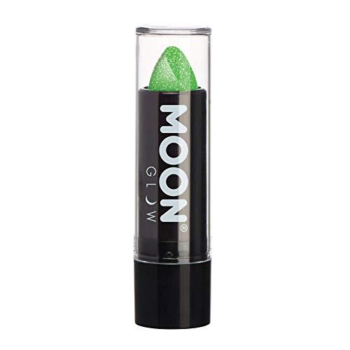 Moon Glow - 5g Neon UV Glitzer-Lippenstift - Grün - Leuchtet hell in UV-Licht