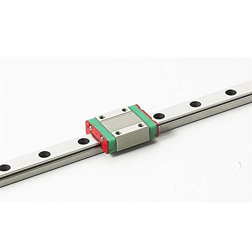 NO LOGO 1pc MR9 9mm Mini MGN9 Linearführungen 100mm Schiene Mit MGN9H Linear Blockwagen CNC X Y Z-Achse