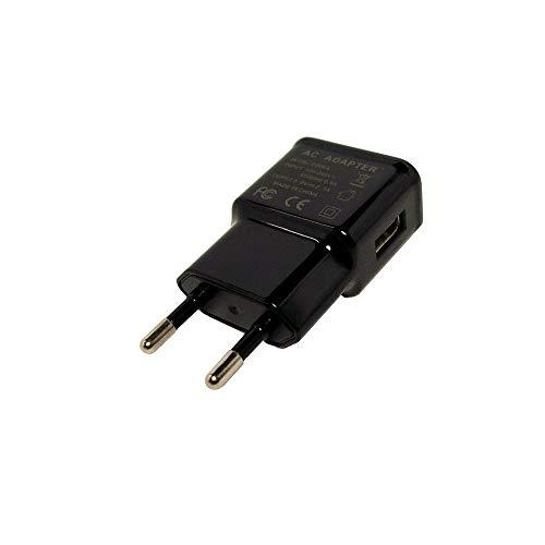 GiXa Technology Adapter Schwarz 2.1A / 2100mAh Universal USB Netzteil Ladegerät Reiselader