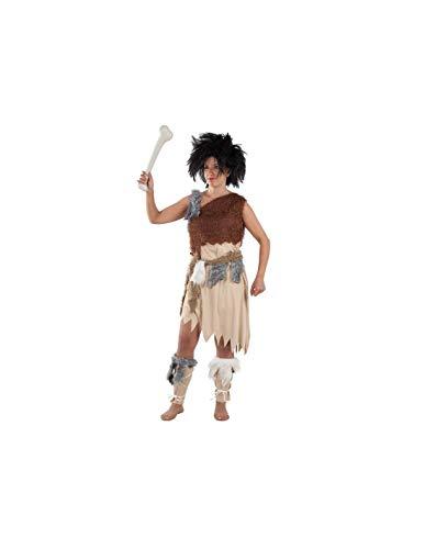 DISBACANAL Disfraz de troglodita para Mujer - -, M
