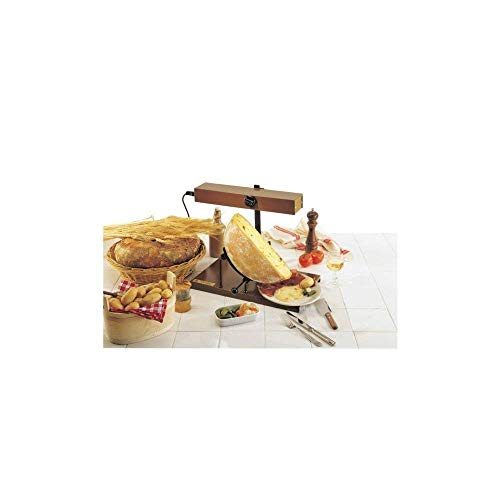 - - Raclette traditionnelle 1/2 fromage ( jusqu'à 6-8 personnes).- Boîtier de chauffe horizontal régl.