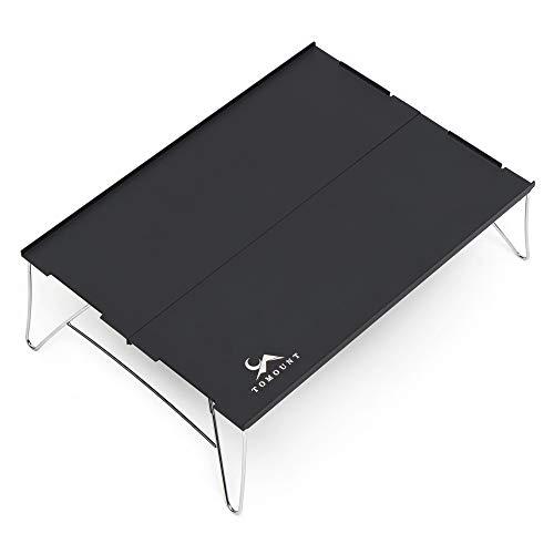 TOMOUNT キャンプ テーブル ミニローテーブル アウトドア 折りたたみ ソロキャンプ コンパクト 超軽量 アルミ製 テーブル