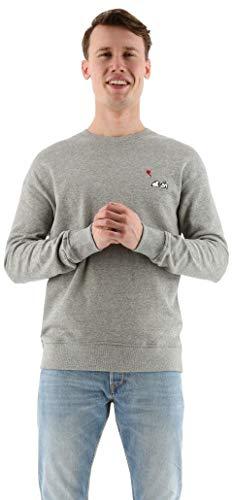 Jack & Jones trui snoopy sweater grijs