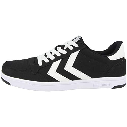 hummel Unisex-Erwachsene STADIL LIGHT CANVAS Sneaker, BLACK