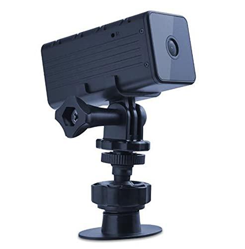 sZeao Mini Camara Espia Oculta 1080P HD Cámara De Seguridad WiFi Inalámbrica Multifuncional con Visión Nocturna Detector De Movimiento para Interior Y Exterior