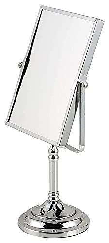 Espejo de Maquillaje Espejo, baño, montado en la Pared, tocador, Espejo de Maquillaje de Doble Cara Espejo de tocador de Alta Gama de Escritorio Espejo de Belleza de Gran Aumento Espejos Rectangular
