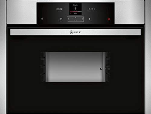 NEFF C15DR00N0 Einbau-Dampfgarer N70 / 45,5 x 59,6 x 54,8 cm (H x B x T) / 38l / Edelstahl / Dampfgarfunktion / Garfunktion / Auftaufunktion / 20 Automatikprogramme