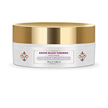 NOURISH MANTRA Exotic Black Turmeric Mud Face Mask To Improve Fine Lines Early Signs Of Aging & Skin Pores