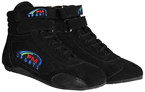 scarpe da rally Stivali Nero per adulti per kart