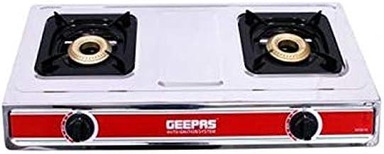 Geepas Stainless Steel Double Gas Burner