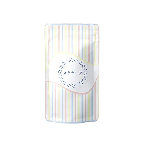 スラキュア45粒/1袋[ボディケアサプリメント乳酸菌カリウムマグネシウム明日葉コーンシルクヒハツエキス]デルソル株式会社
