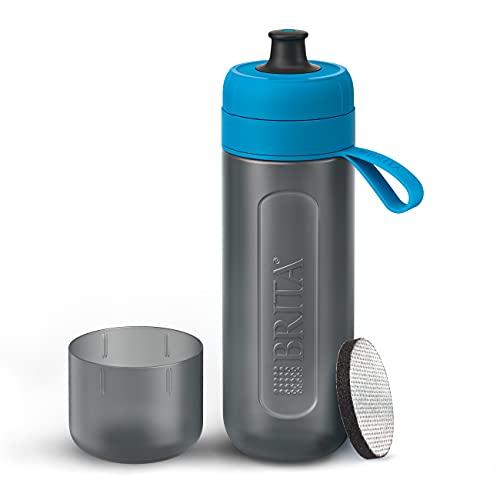 Botella filtrante BRITA Active Azul - Filtro TecnologíaMicroDisc, Óptimo sabor para...