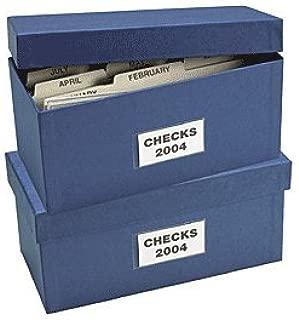 ABC Check Storage Box w/ 12 Dividers, 5