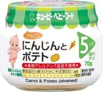 QP キユーピー 離乳食 にんじんとポテト 70g 24個 (12個×2箱) ZHT