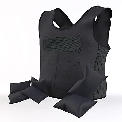 UrbanRed Weighted Vest for Kids with Sensory Issues, Ages 5-9 (Medium) – Compression Vest for Kids with Sensory Issues for Autism, ADD, ADHD, Sensory