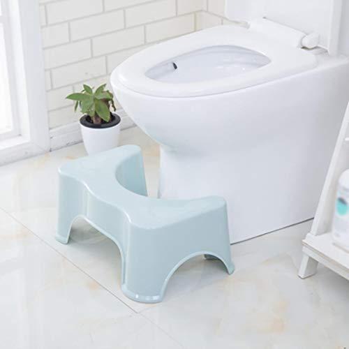 ZENGZHIJIE Squatting wc-kruk anti-slip badkamer Step Up kruk verlicht constipatie, opgeblazen gevoel | lijnt de dikke darm voor snellere, eenvoudiger verlichting | juiste wc-houding voor gezonder resultaat