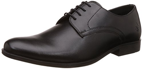 Bond Street by (Red Tape) Men's Black Formal Shoes - 7 UK/India (41 EU) (BSS0011)