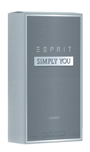 Esprit simply you for him eau de toilette, 50 ml, per stuk verpakt (1 x 50 ml)