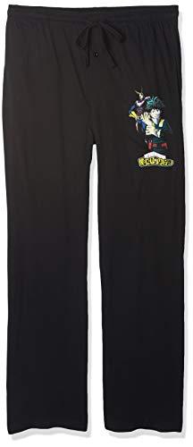 Bioworld My Hero Academia All Might and Isuku Pajama Pants-Medium