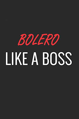 BOLERO: A Matte Soft Cover Notebook to Write In. 120 Blank Lined Pages