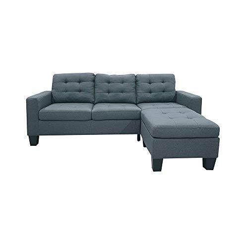 LZZJ El Lino de grisnes se Puede entregar Dentro de los Tres a los días de Heptad, el Estilo perteferente, Infantil, de Moda, Innovador, sofá Modular