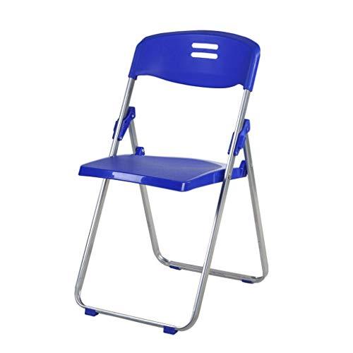 WXQIANG Sillas Silla plegable de plástico de capacitación oficina de la conferencia Presidente de la Conferencia respaldo silla plegable silla de heces Domésticos de Cocina Living taburete plegable po