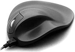 Hippus S2WB-LC Wired Light Click Handshoe Mouse (Right Hand, Small, Black)