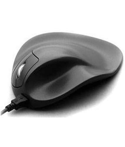 HIPPUS HandShoe Mouse rechts S | optische Maus | ergonomisches Design - Vorbeugung gegen Mausarm/Tennisarm (RSI Syndrom) - besonders armschonend | 2 Tasten
