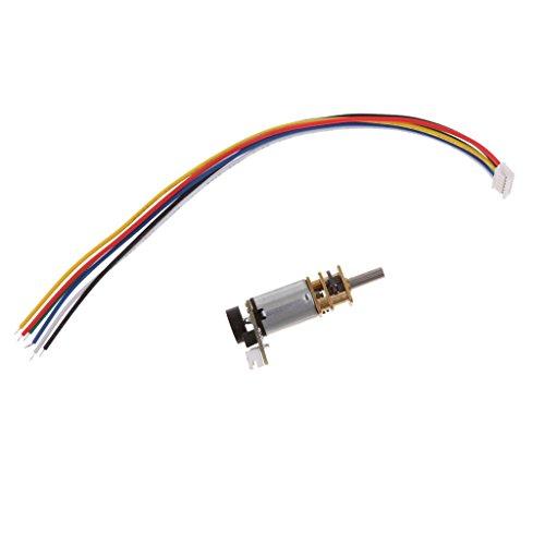 Almencla DC12 V Elektrisches Mikromotor, Geschwindigkeitsminderer, Motor, Geschwindigkeitsbox, Coder, 3000 rpm
