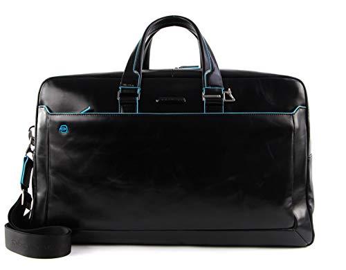 PIQUADRO Blue Square Duffel Bag Nero