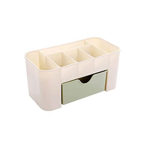 XIANGAI Bijoux cosmétiques tiroir de Rangement en Plastique Durable Maquillage Brosse boîte Intérieur Porte-Rouge à lèvres de contrôle à Distance