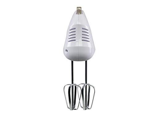 Beper BP.304 Sbattitore Elettrico e Mescolatore, 150 W, 70 Decibel, ABS, Acciaio Cromato, Bianco Tortora