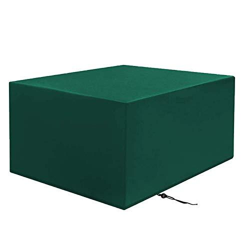 MJKL Fundas para muebles de Jardin, 420D Oxford Anti-UV rectangular Fundas impermeables para Muebles, Protectora para Mesa y Silla para Patio