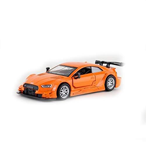 Modelo De Coche De Carreras 1:43 para Audi RS5, Modelo De Coche De Aleación De Carreras, Colección De Muebles, Modelo De Coche Alemán DTM, Coche De Metal De Carreras (Color : 2)