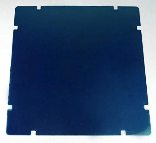 Hoja de metal adhesiva, 220 x 220 mm, material para impresora WANHAO Duplicator 6 Plus e I3 Plus