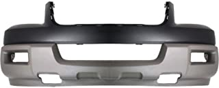 Front Bumper Cover Compatible with 2003 Ford Expedition Upper and Lower Primed Titanium XLT Model with Absorber